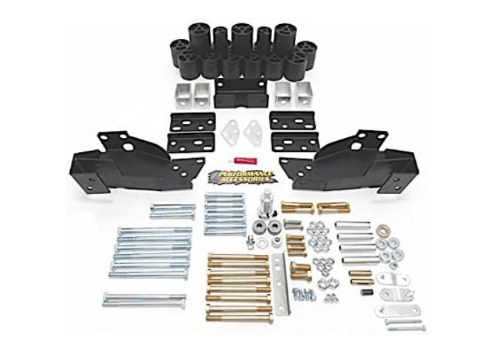 Body Lift Kit for chevy silver 1500