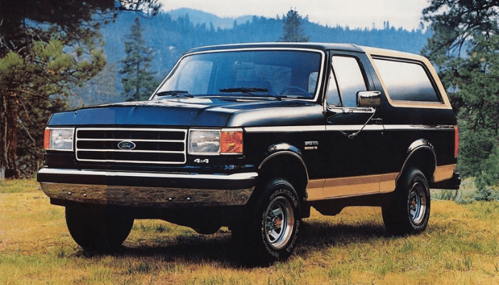 Leveling Kits for ford bronco