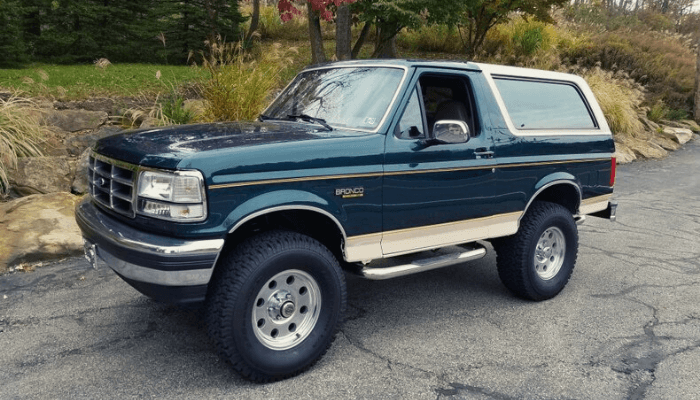 Body Lift Kits for ford bronco