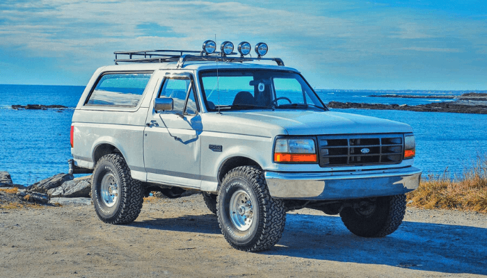 Leveling Kits for ford bronco 2