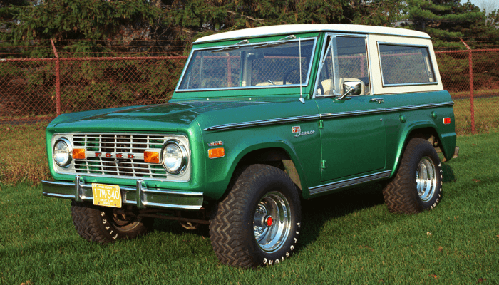 Body Lift Kits for ford bronco 3