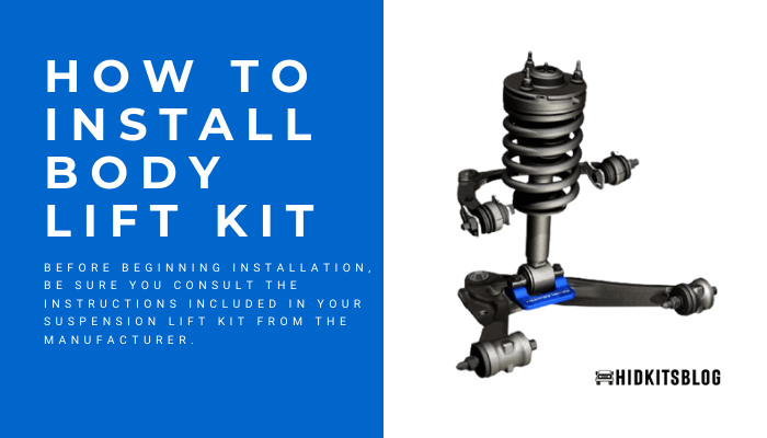 how to install body lift kit