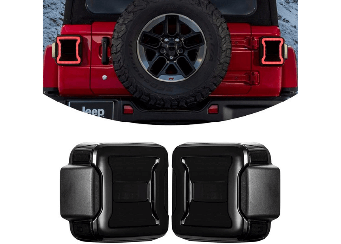 KIWI MASTER Jeep Wrangler LED Tail Lights